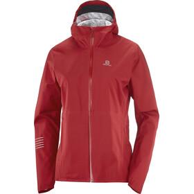 Salomon Bonatti WP Jacket Women, rojo